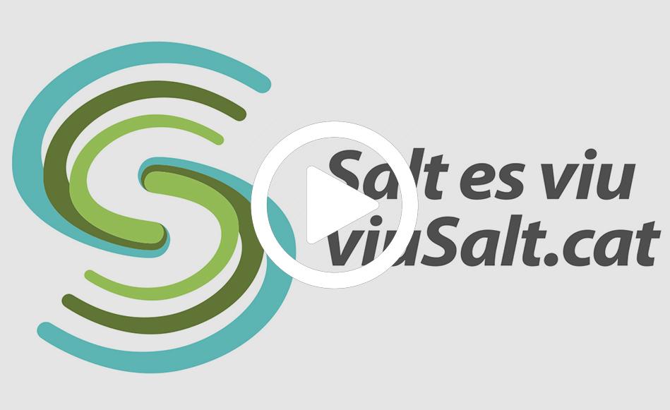 """Salt presenta la nova marca """"Salt es viu, viusalt.cat"""" per potenciar els valors de la ciutat"""