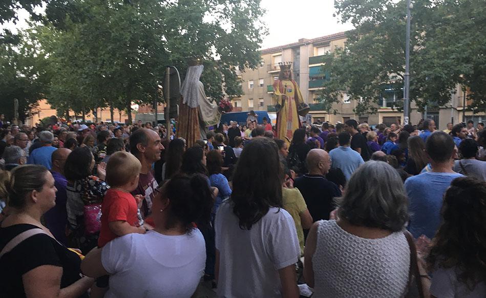 Els actes de la Festa Major tiren endavant després de la tempesta