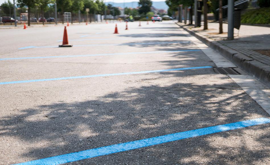 El desplegament total de les noves zones blaves i verdes es posposa fins dilluns dia 13 d'agost.