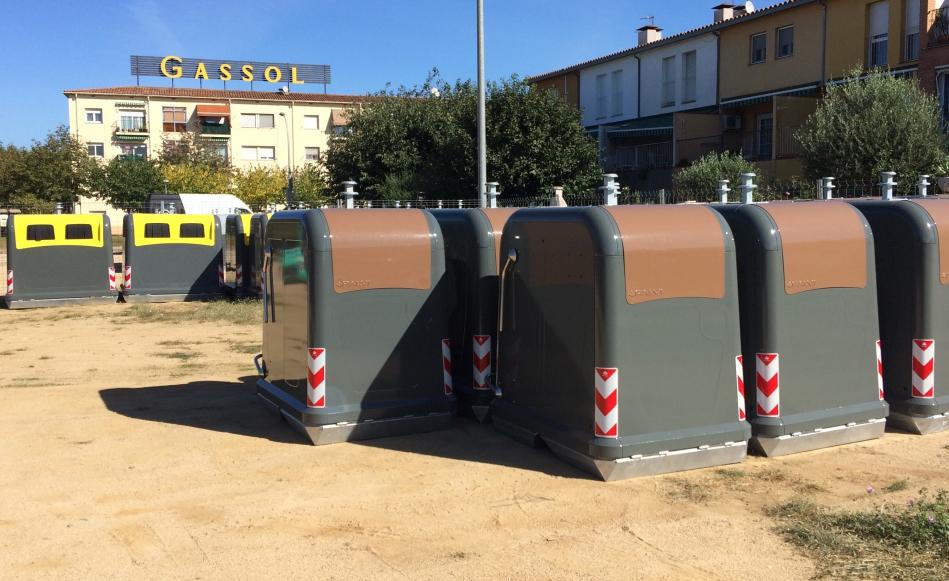 Nous contenidors i nova maquinària per una neteja més àgil i eficient