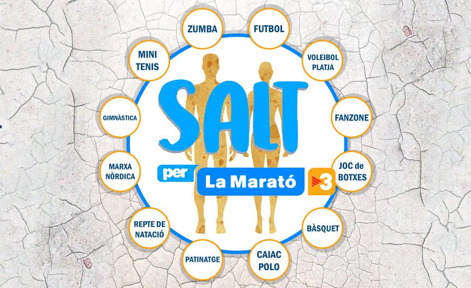 Salt es bolca un any més amb La Marató de TV3