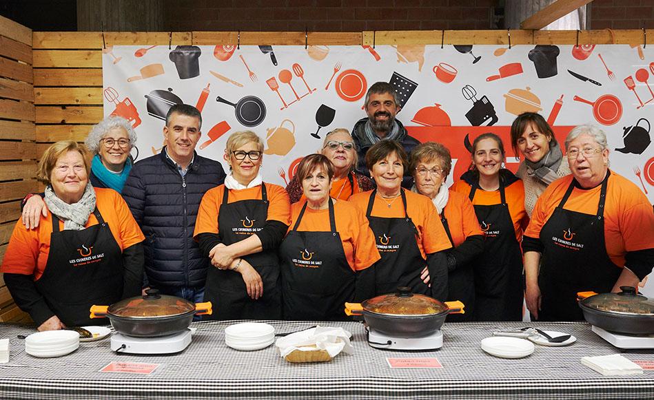 Les Cuineres de Salt triomfen un any més a FiraTast