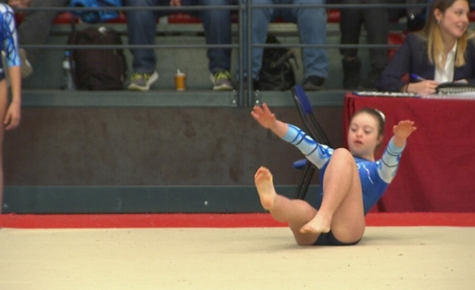Gimnastes amb diversitat funcional participen per primera vegada a la Copa Catalana de Gimnàstica celebrada a Salt