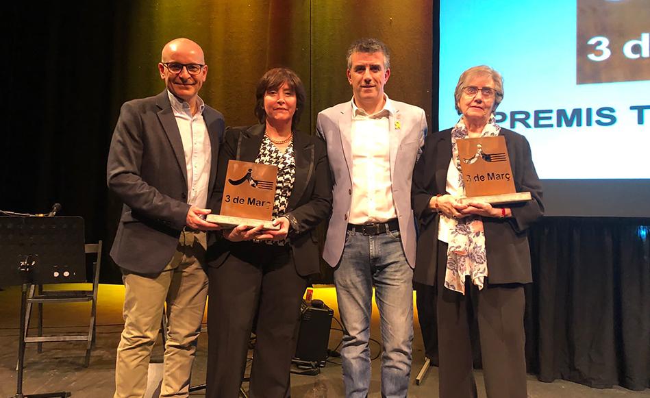 Educació, solidaritat i esport als premis Tres de Març