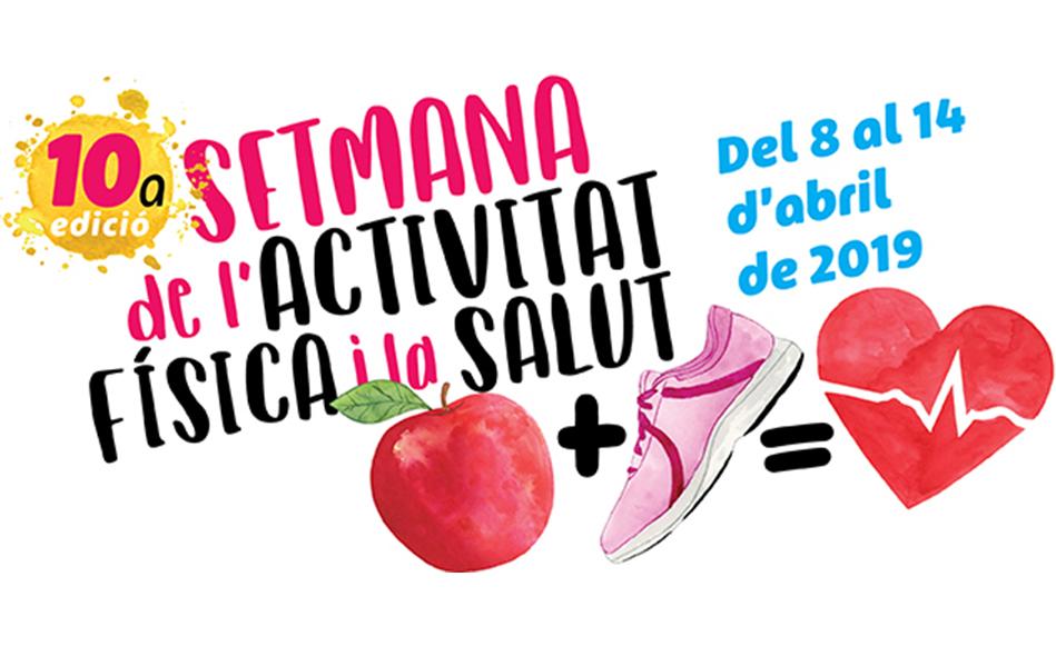 El 8 d'abril començarà la 10a edició de la Setmana de l'Activitat Física i la Salut (SAFIS)