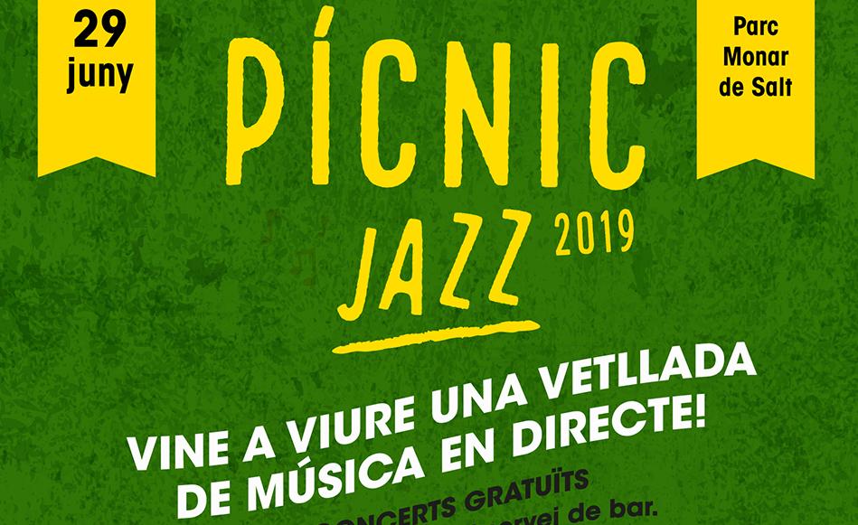 El 29 de juny es celebra el 7è Pícnic Jazz al Parc Monar de Salt