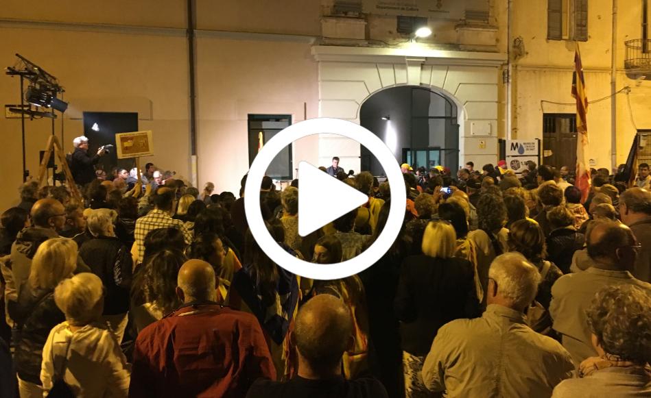 Inaugurada la plaça 1 d'octubre