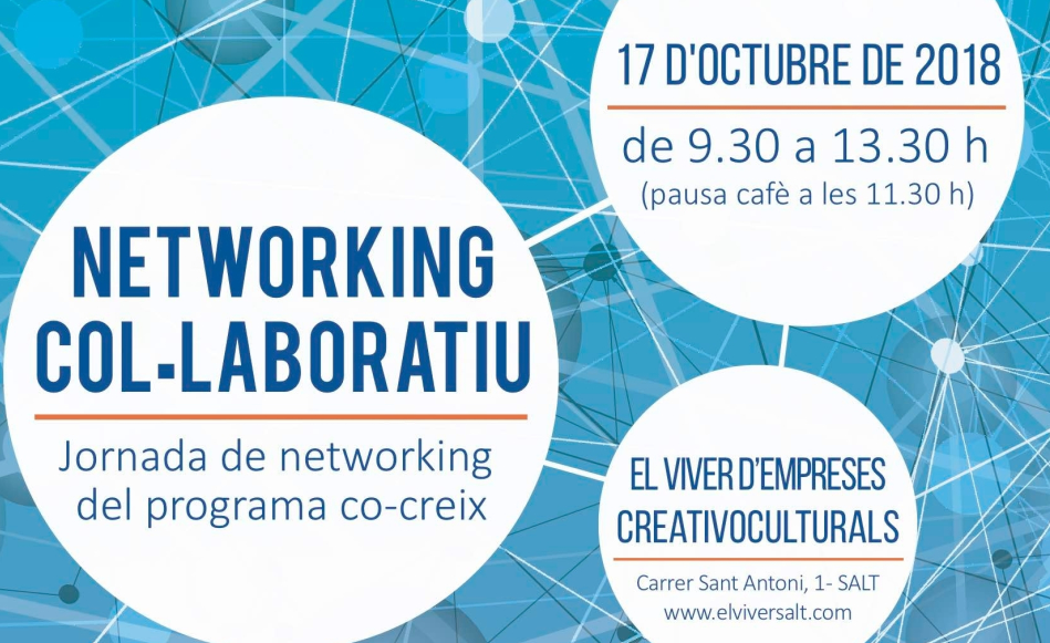 El Viver d'Empreses organitza una jornada gratuïta sobre networking col·laboratiu el 17 d'octubre