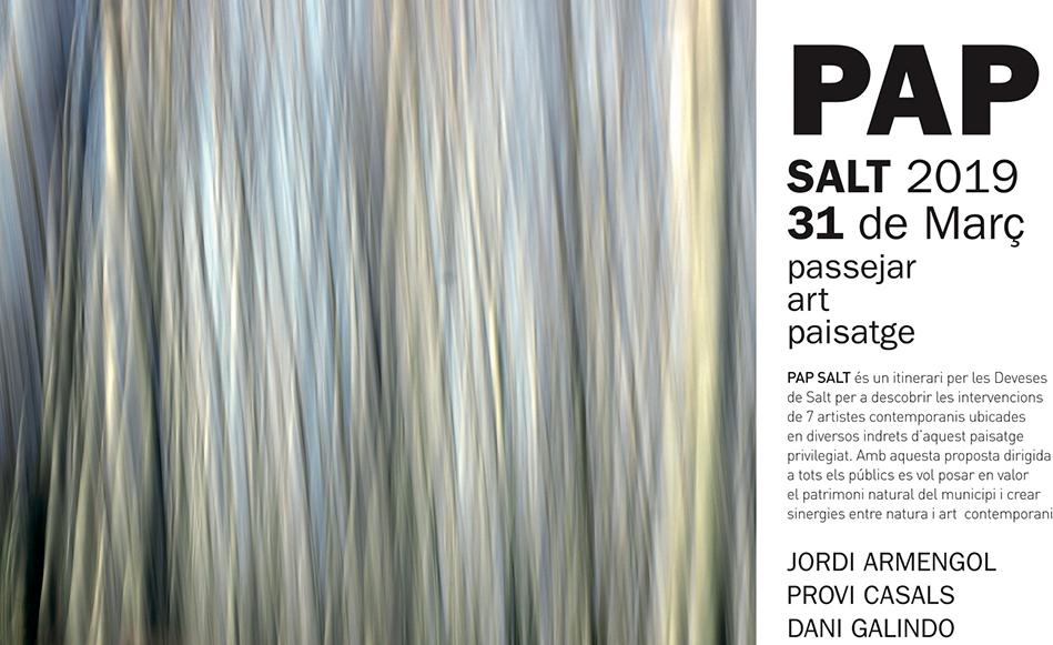 L'itinerari del PAP 2019 permetrà descobrir les obres de 7 artistes contemporanis a les Deveses de Salt