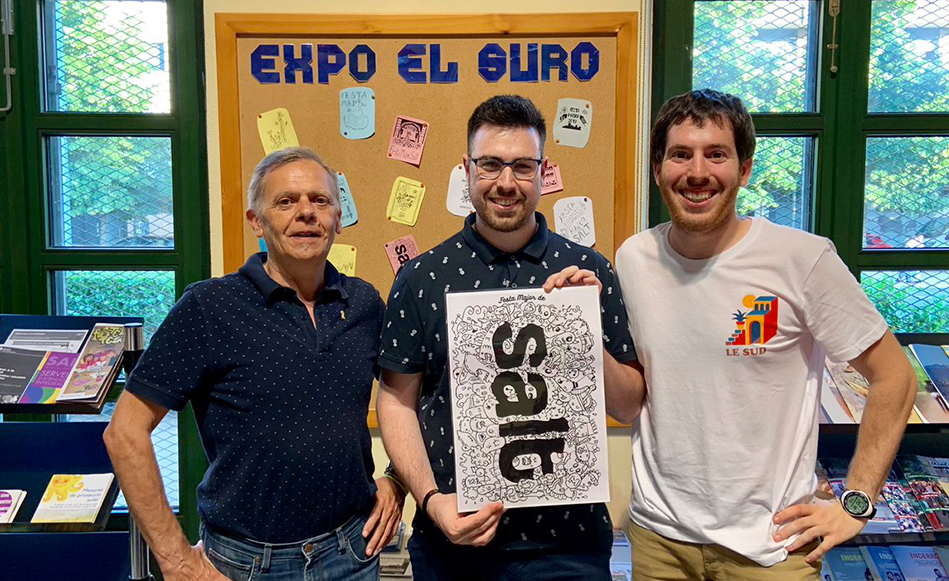 Sergio Valero guanya el concurs de disseny dels gots de la Festa Major de Salt