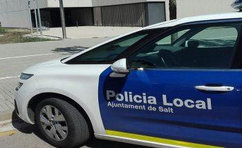 La Policia de Salt augmenta el patrullatge nocturn per combatre les denúncies per soroll