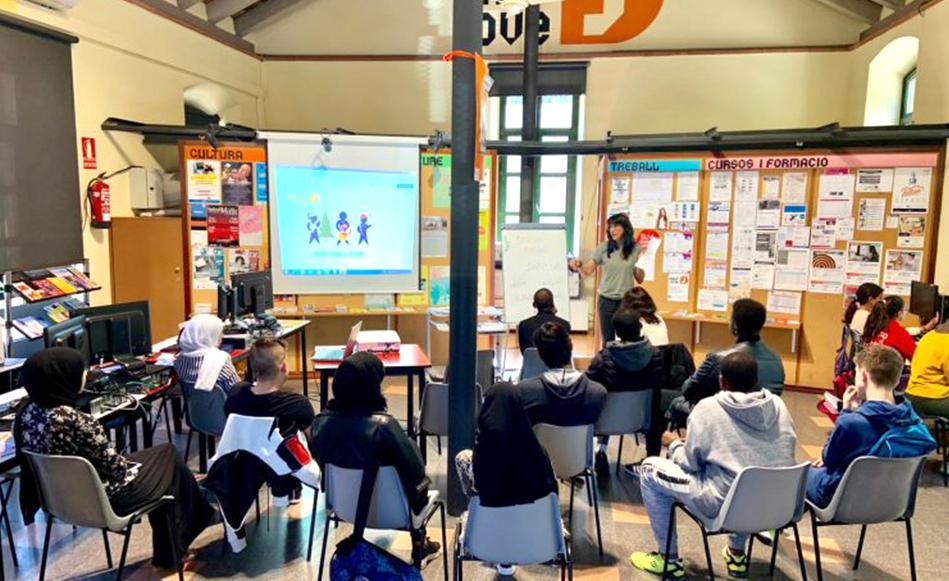 Un total de 279 joves de Salt han participat en els programes d'inserció laboral inclosos dins el Pla Local de Joventut del municipi