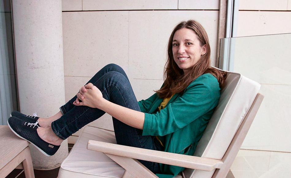 LLucia Ramis guanya el premi Setè Cel 2019 amb la novel·la Les possessions