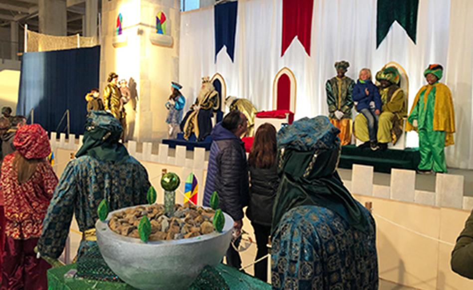 Un mapping a la façana de la Coma Cros rebrà la comitiva dels Reis d'Orient a Salt