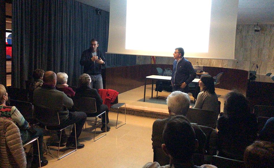 L'Ajuntament de Salt millora el projecte d'asfaltatge del carrer Doctor Castany ampliant les voreres
