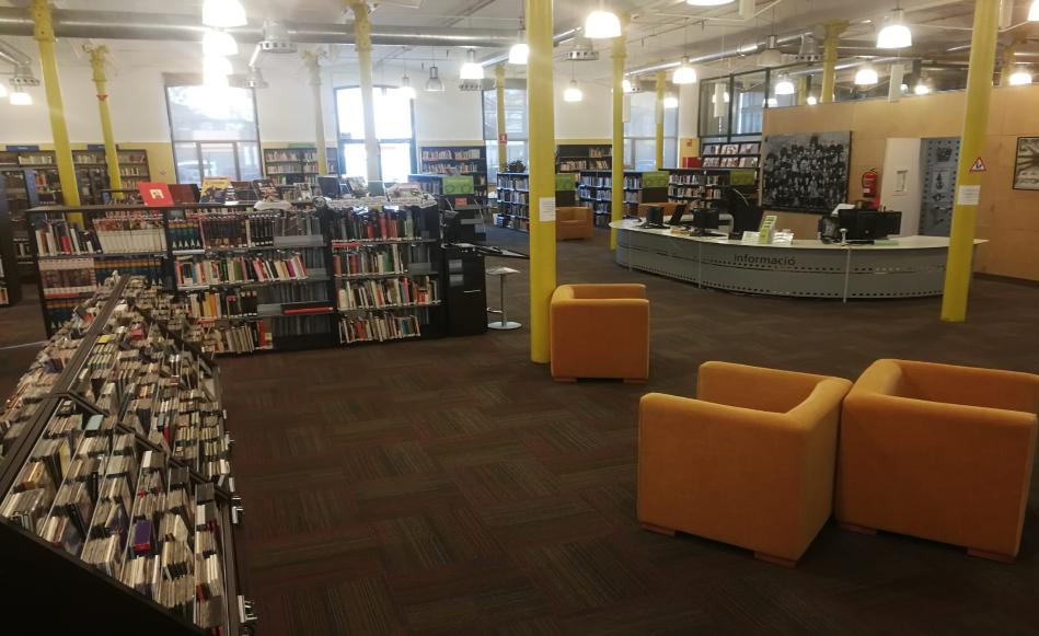 La Biblioteca Iu Bohigas de Salt ampliarà els horaris durant les èpoques d'exàmens