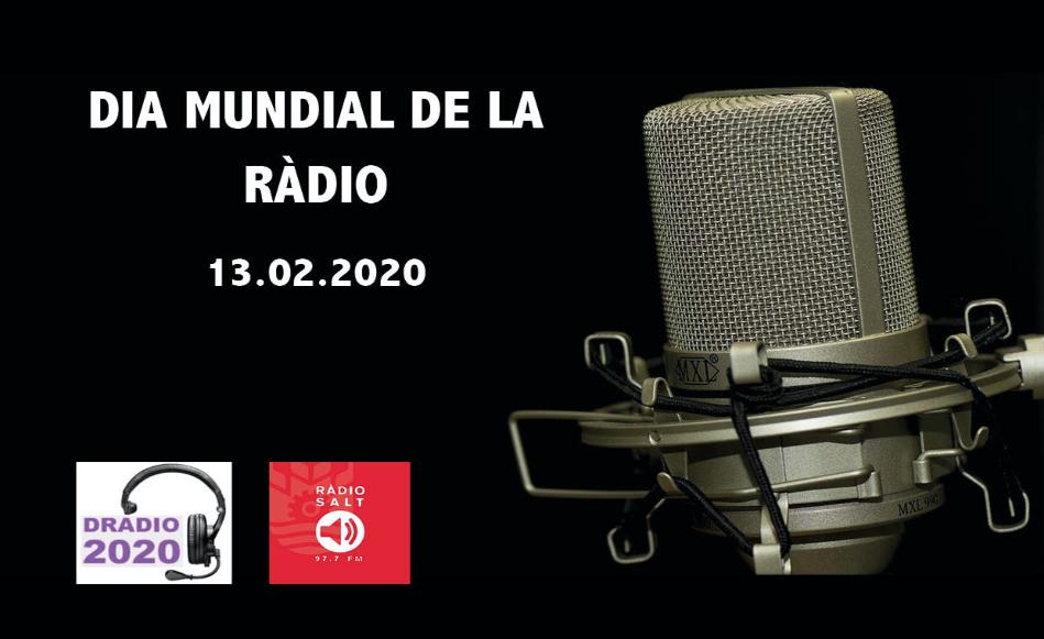 Ràdio Salt celebrarà el Dia Mundial de la Ràdio amb una emissió conjunta