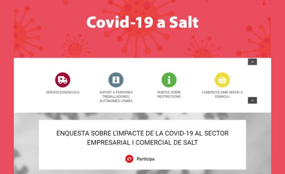 L'Ajuntament de Salt comença a dissenyar un Pla de Reactivació Econòmica per superar l'impacte de la COVID-19