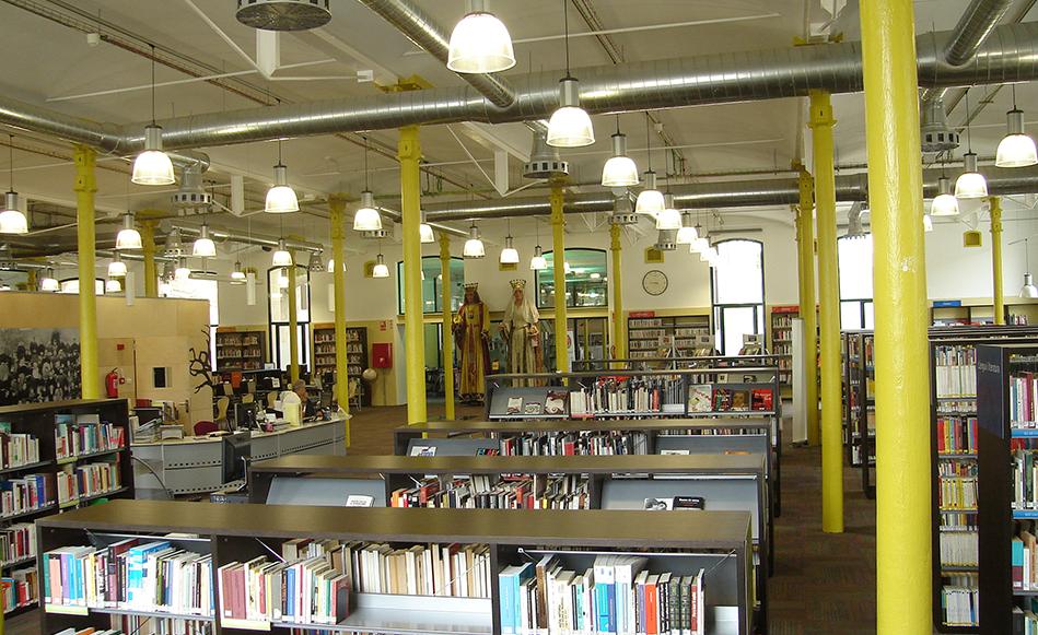 Situació biblioteques municipals de Salt durant la FASE1 de desconfinament