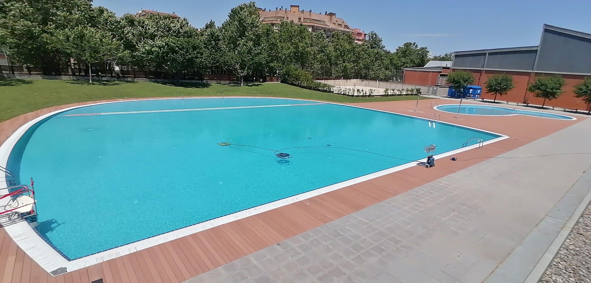 La piscina municipal d'estiu de Salt obre aquest dilluns 29 de juny