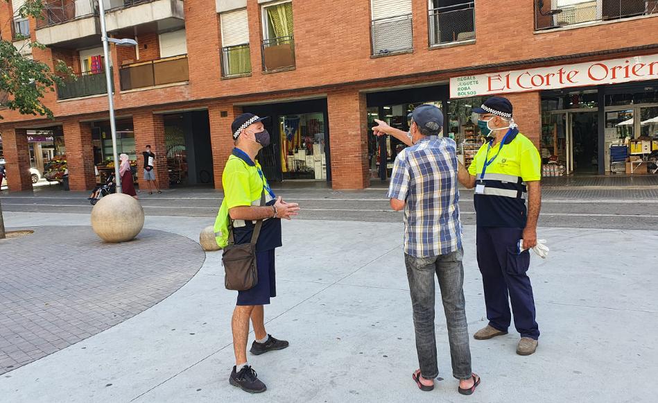 La Policia Local de Salt intensifica els controls i denuncia 25 persones en 72 hores per no dur mascareta