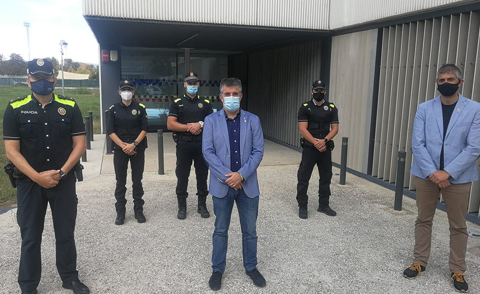 La Policia Local de Salt incorpora tres agents a la plantilla