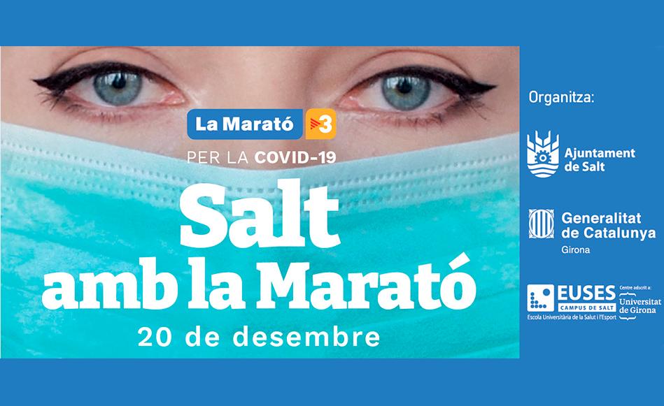 Salt es volca un any més en la Marató de TV3 que enguany està dedicada a la lluita contra la Covid19