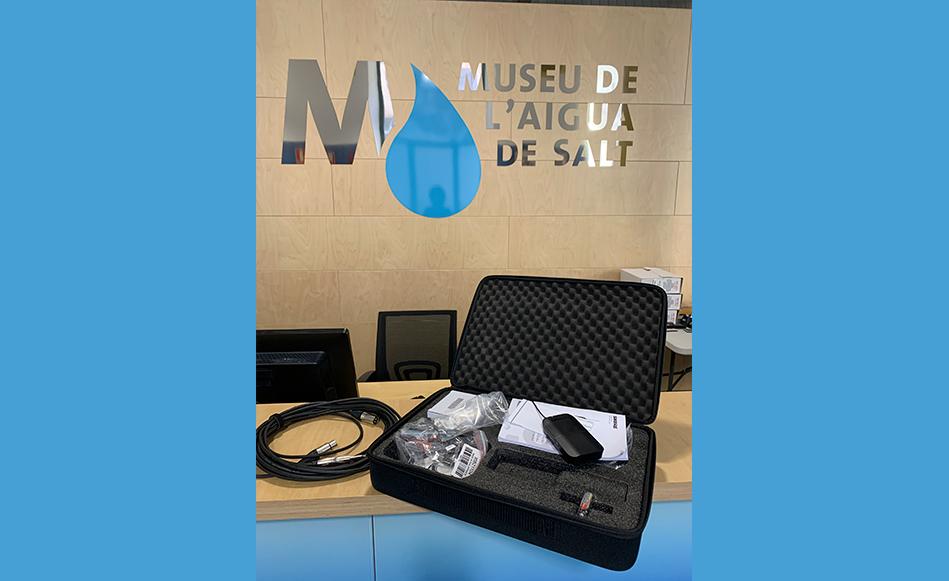 El Museu de l'Aigua de Salt rep una subvenció de la Diputació de Girona dins l'àmbit de les noves tecnologies