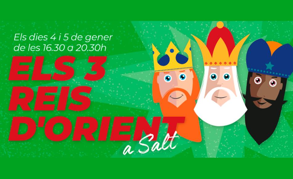 Els Reis d'Orient rebran els nens i nenes de Salt en un campament instal·lat a la Factoria Cultural Coma Cros