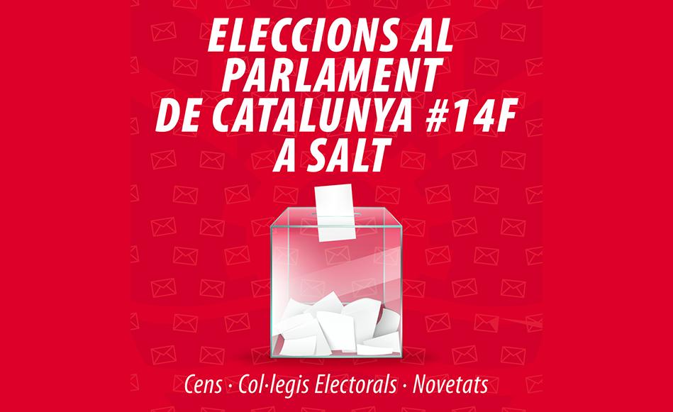 L'Ajuntament de Salt adapta el dispositiu electoral del 14F als protocols sanitaris vigents i canvia alguns punts de votació habituals