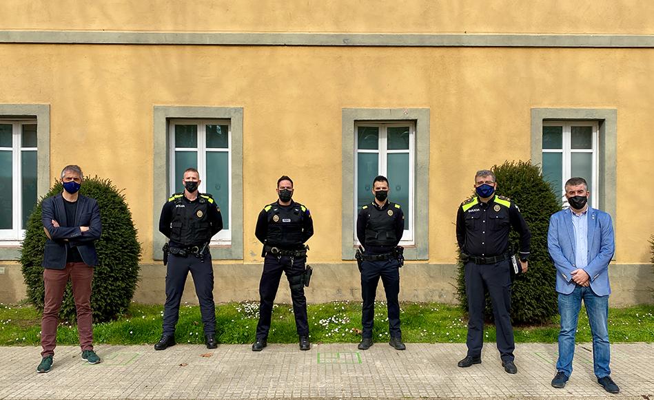 La Policia Local de Salt incorpora tres agents i consolida una plantilla de 57 membres