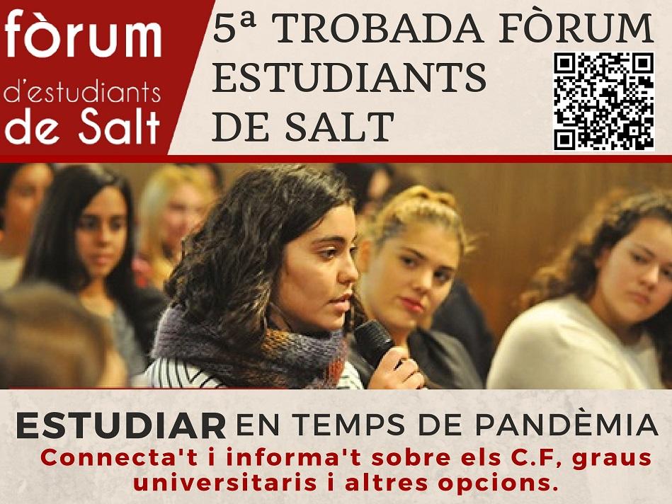 Tot a punt per a la cinquena edició de la trobada del Fòrum d'Estudiants de Salt