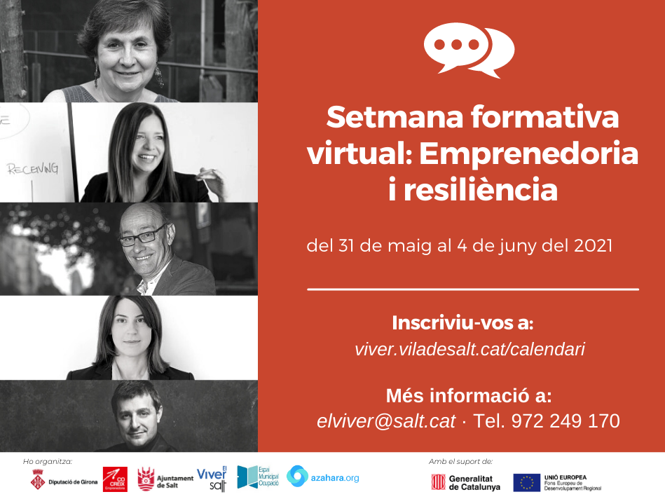 L'Ajuntament de Salt i la Diputació de Girona impulsen la setmana formativa de l'emprenedoria