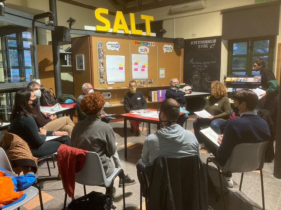 Els Consells de Barri de Salt inicien la segona fase després de les primeres taules de debat
