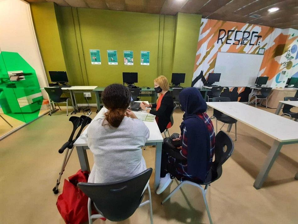 El Programa Referent d'Ocupació Juvenil de Salt ha atès prop de 200 joves durant el primer quadrimestre del 2021