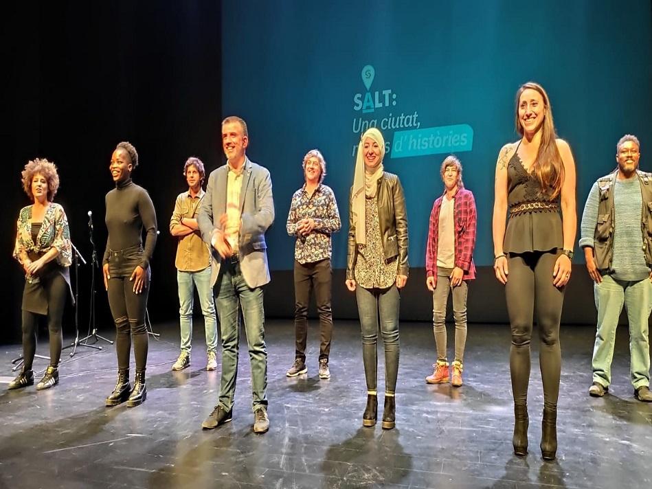 Salt presenta una campanya per mostrar l'ànima i les potencialitats de la ciutat
