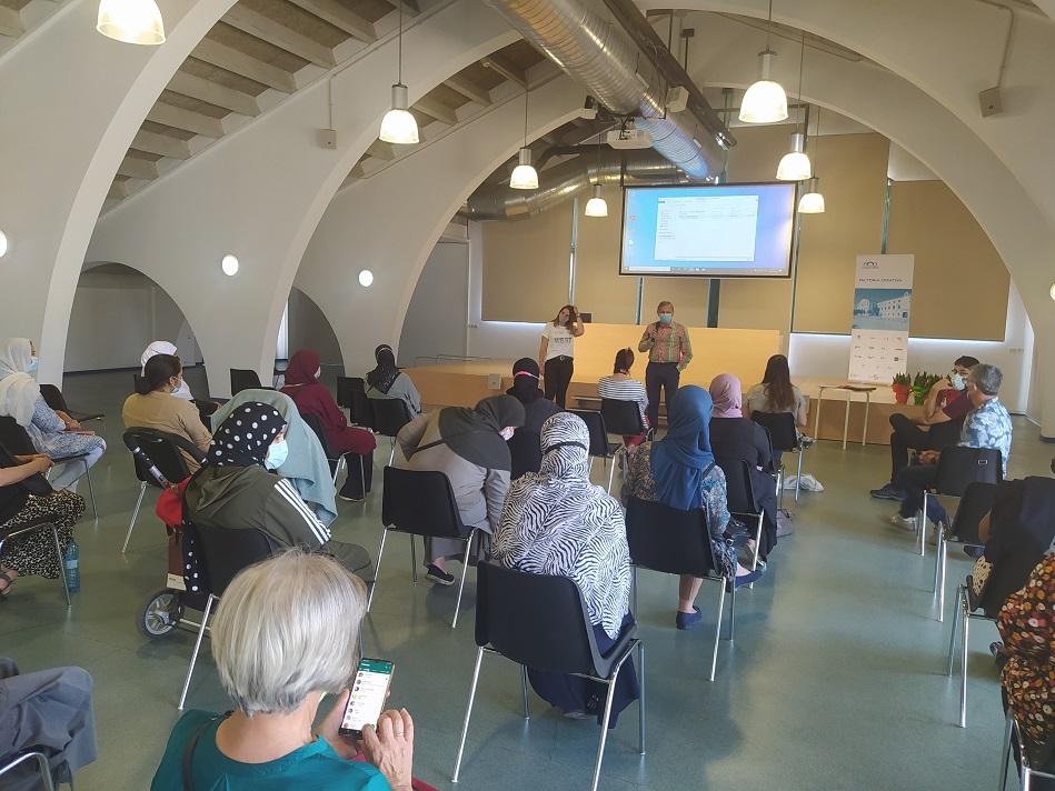 Més de 100 persones han participat aquest curs 2020-21 en el projecte Xarxa Tallers amb Famílies impulsat per l'Ajuntament de Salt