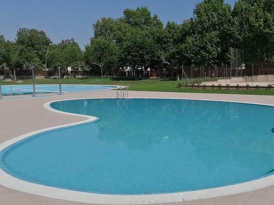 Tot a punt per a l'obertura de la piscina municipal a l'aire lliure de Salt aquest dissabte 19 de juny