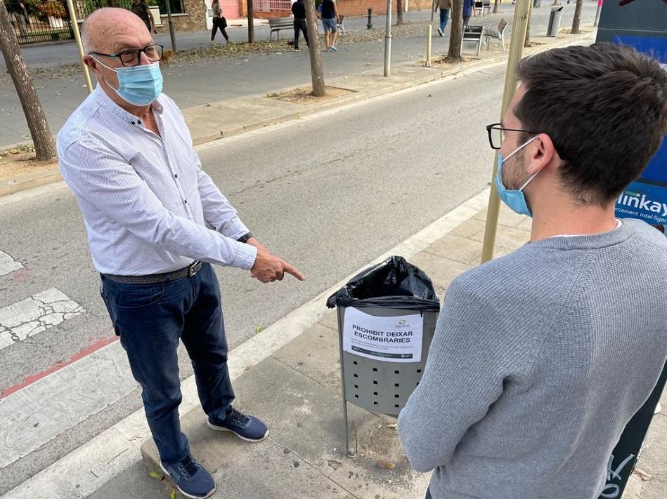 Campanya informativa escombraries a papereres – web