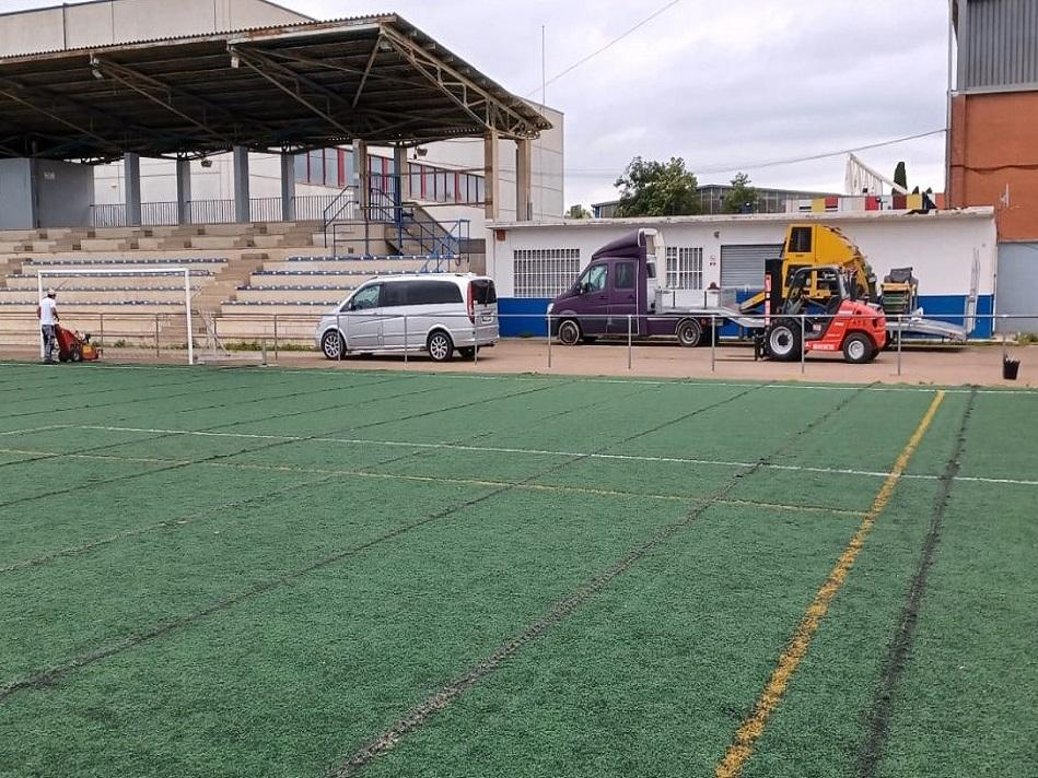 Nova Gespa Articial camp de futbol El Pla de Salt – web
