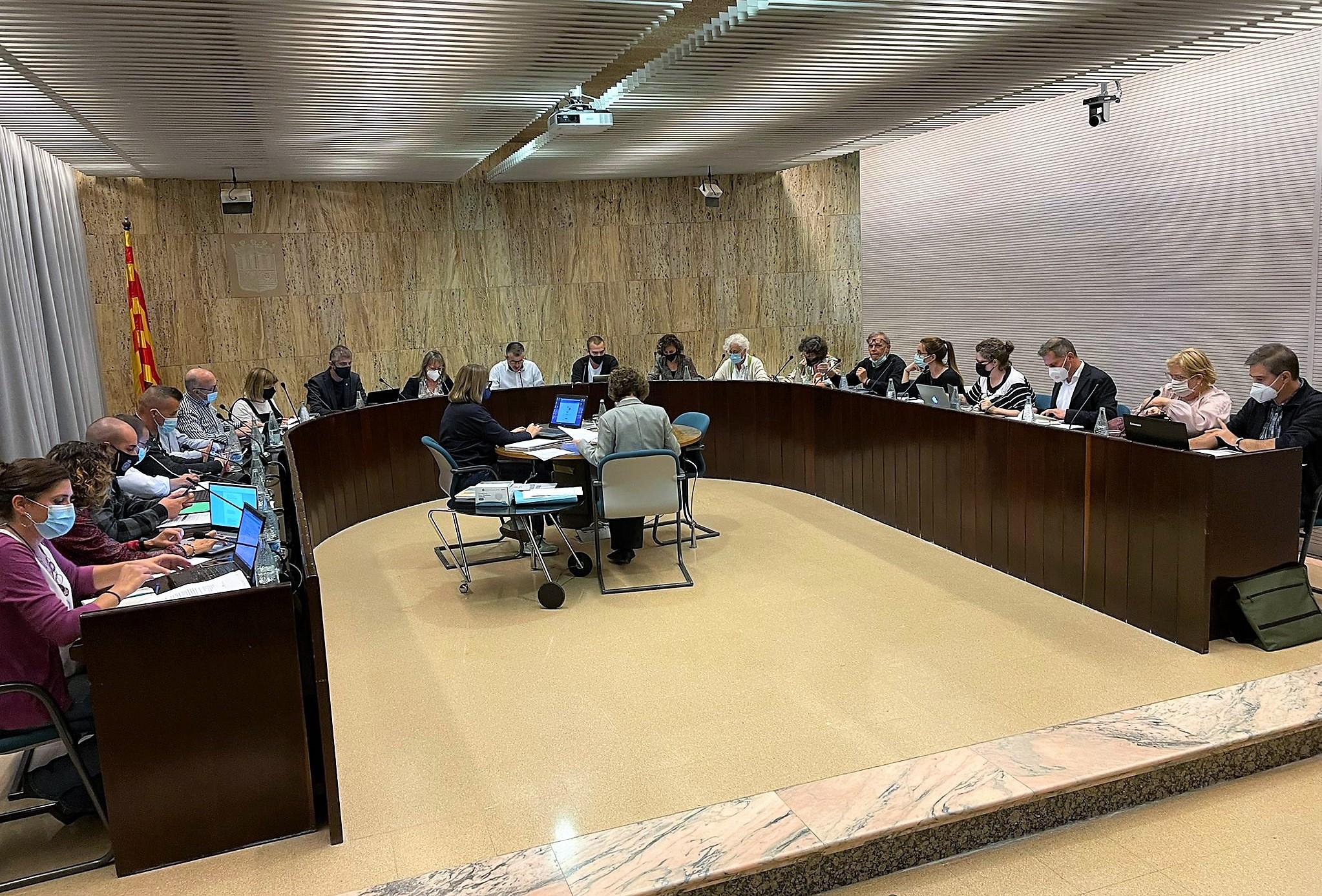 L'Ajuntament de Salt dóna llum verda perquè Aiguaviva i Bescanó utilitzin la deixalleria municipal saltenca